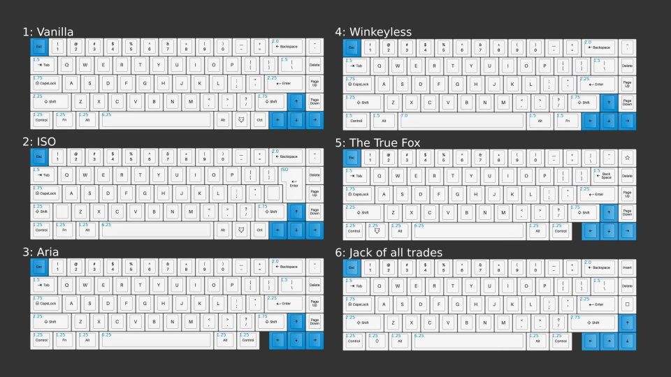 whitefox-all-layouts