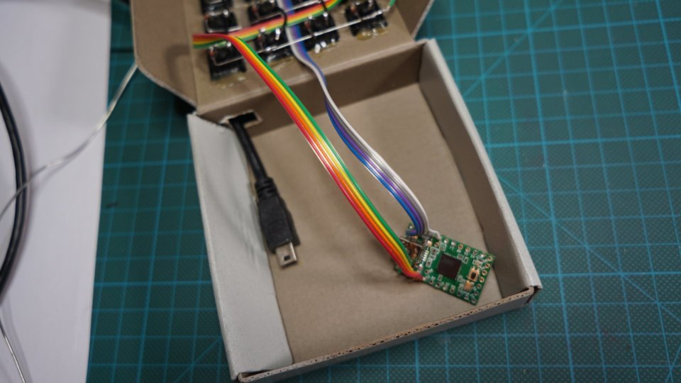 cardboard case controller